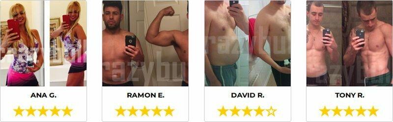 Opiniones y fotos antes / después de mostrar los resultados para mostrar la efectividad