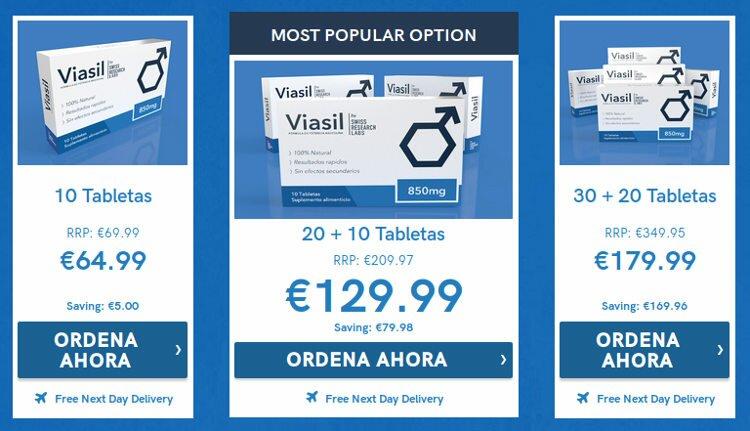 Cómo comprar Viasil oficial al mejor precio en España.